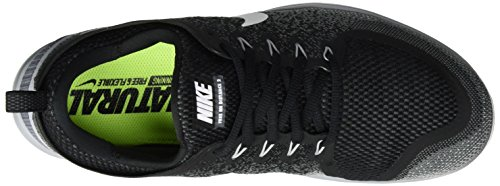 Nike Herren Mens Free RN Distance 2 Running Sneakers Mehrfarbig (BLACK/WHITE-COOL GREY-DARK GREY)