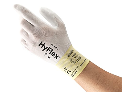 HyFlex 11-600 Multipurpose Gloves -  Durable, Lightweight,  Breathable, Size X Large (pack of 12)