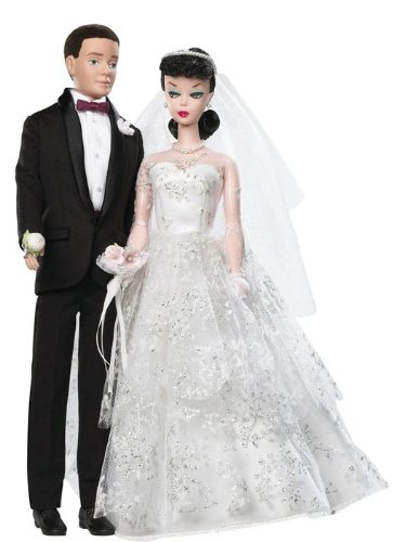 (Barbie Collector 50th Anniversary Dolls - Wedding Day Barbie and Ken Giftset)