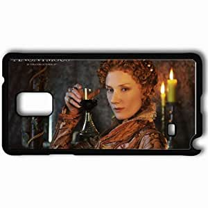 Personalized Samsung Note 4 Cell phone Case/Cover Skin Anonymous Joely Richardson Movies Black by supermalls