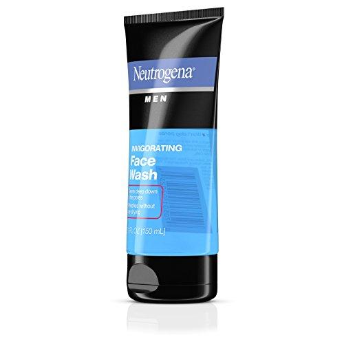 Neutrogena Men Oil-Free Invigorating Foaming Face Wash, 5.1 Fl. Oz