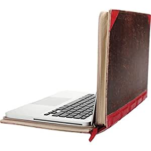 Twelve South (12-1004) BookBook, Hardback Leather Case for 15-inch MacBook Pro (Red)