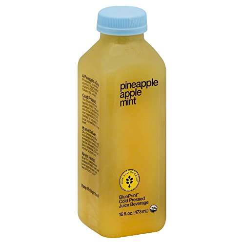 Blueprint juices amazon blueprint juice pineapple mint 16 ounce pack of 6 malvernweather Image collections