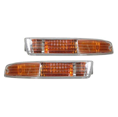 Front Side Marker Signal Corner Parking Light Pair Set for 94-97 Acura Integra