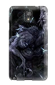 New DPatrick Super Strong Feathered Dragon Tpu Case Cover For Galaxy Note 3