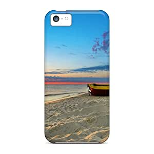 Excellent Design Sunset Beach Case Cover For Iphone 5c
