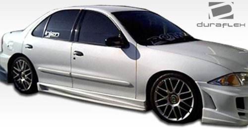 1995-2005 Chevrolet Cavalier 2DR Duraflex Bomber Side Skirts Rocker Panels - 2 Piece