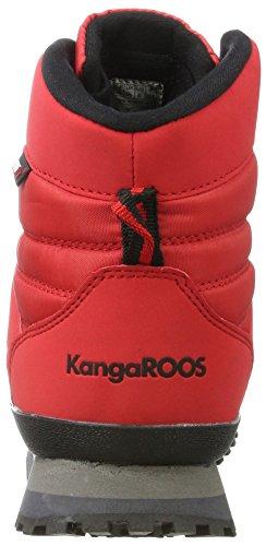 Rot Schneestiefel Red K KangaROOS Damen Velvet Skor RTX qw8IXOI