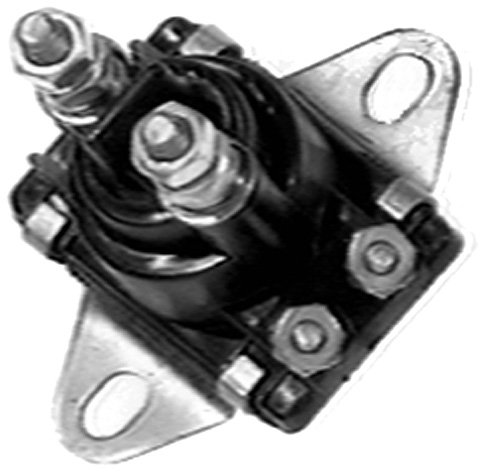 Sierra International 18-5817 Marine Solenoid, Vertical Post, Angled Bracket ()