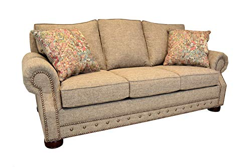Beam & Oak BK0080 Whitaker Queen Sleeper Sofa Innerspring Khaki