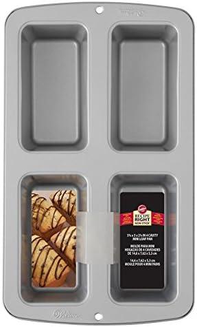 Photo of Wilton Recipe Right Non-Stick Mini Loaf Pan, 4-Cavity (2105-9101) – Best Chili Recipe