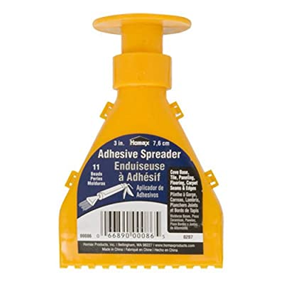 Homax Group Inc 86 HOMAX Products Bead Cove Base Adhesive Nozzle Spreader: Home Improvement