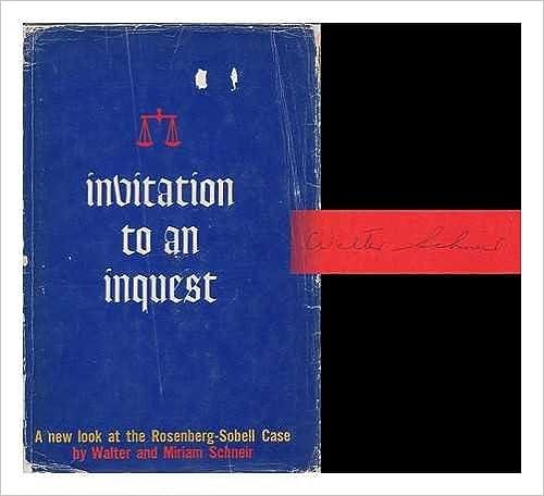 Book Invitation to An Inquest