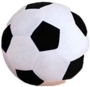 Censhaorme Balón de fútbol de Dibujos Animados Almohada Relleno de ...
