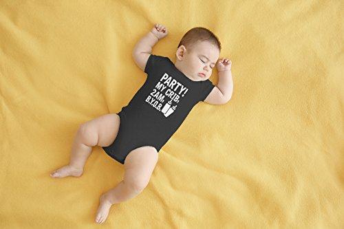 AW Fashions Crib, 2 Cute Funny Infant One-Piece