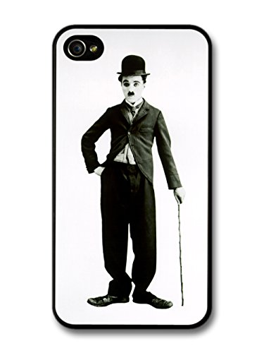 Charlie Chaplin Grayscale iPhone 4 4s Case