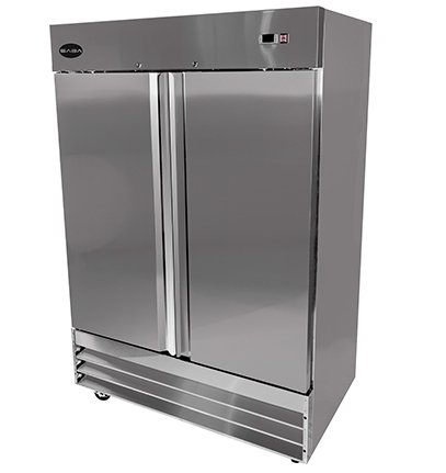Saba Air ST-47R Commercial 54Cf 2 Door Reach In Refrigerator Cooler