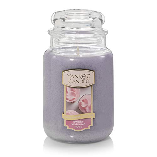 Yankee Candle   Sunday Brunch Collection   Large Jar Scented Candle   Sweet Morning Rose