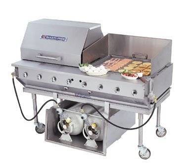 Bakers Pride CBBQ Ultimate Outdoor Radiant Gas Char Broiler,