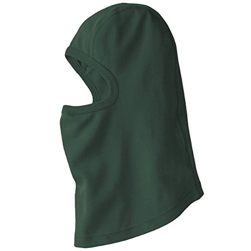 Minus33 Merino Wool Clothing Unisex Midweight Wool Balaclava, Forest Green, One Size by Minus33 Merino Wool (Image #3)