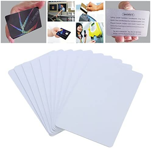 ILS 10 Pieces NFC Smart Card Reader Tag Tags S50 IC 13.56MHz IC Copier Read Write White Cards
