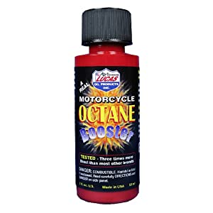 Lucas Oil 10725 Motorcycle Octane Booster, 2 oz