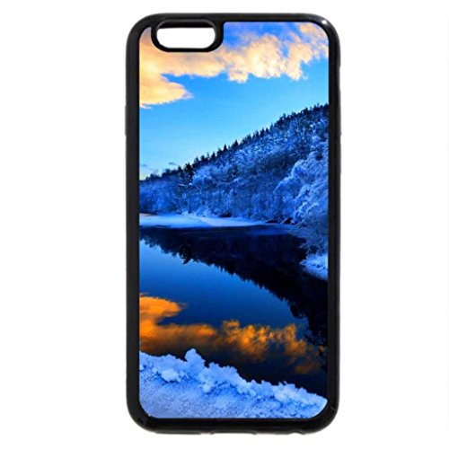 iPhone 6S Plus Case, iPhone 6 Plus Case, BLUE AND GOLD REFLECTION OF SKY