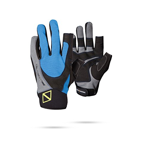Magic Marine Junior Ultimate Full Finger Sailing Gloves 2017 - Blue