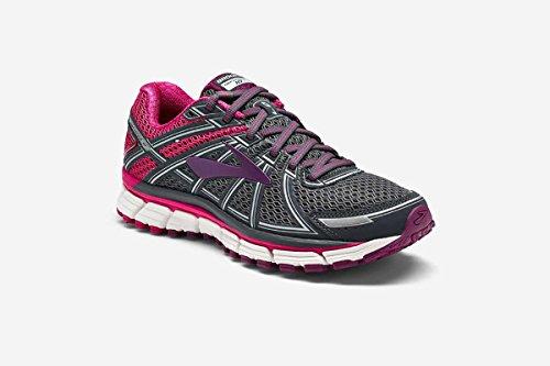 Brooks Defyance 10 Women's Running Shoe Ebony/Pink/Plum Size 7 B(M) US