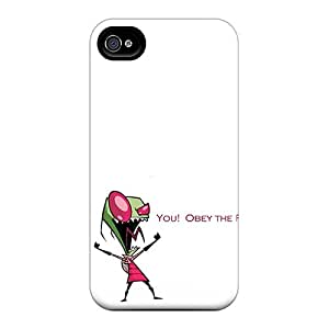 New Invader Zim Tpu Case Cover, Anti-scratch LdNTykc3811eDFDu Phone Case For Iphone 4/4s