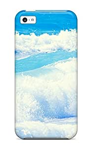 diy phone caseDurable Case For The ipod touch 4- Eco-friendly Retail Packaging(waves)diy phone case