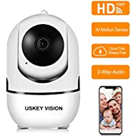USKEYVISION WiFi Security Camera Home AWS Cloud Storage...