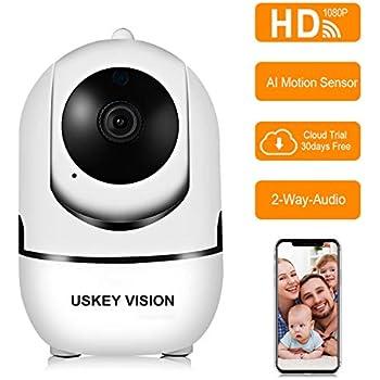 Amazon Com Inqmega Fhd 1080p Wifi Home Ip Camera Indoor