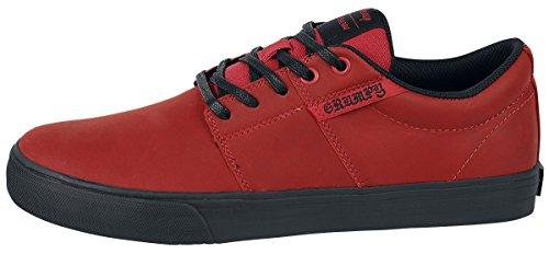 Supra Stacks Vulc II - Grumpy Baskets Rouge EU46