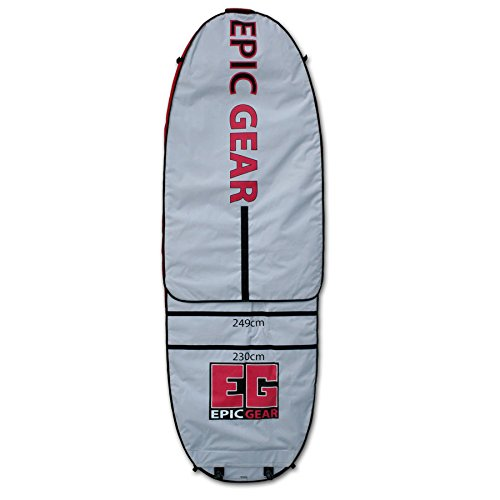 Epic Gear Adjustable Day Wall Bag 7'6''-8'10'' x 1'9'' (230-270 x 55 cm) SUP Bag, SUP Board Bag, Board Bag by Epic Gear