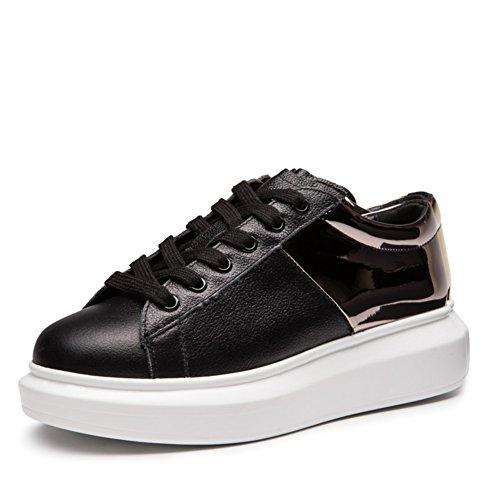 zapatos de moda primavera y otoño/zapatos casuales/Fondo plano zapatos/Cabeza redonda correa de lentejuelas zapatillas B