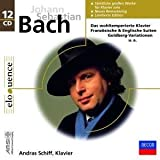 Andras Schiff Plays Bach (SOLO WORKS) : Goldberg Variations, The Well-Tempered Clavier, Book 1 & 2, Two part Inventions/Three Part Inventions, English Suites BWV 806-811 , 6 Partitas BWV 825-BWV 830, The Six French Suites - 12CD BOX SET - DECCA