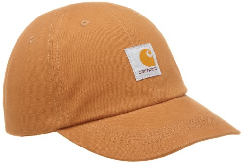 Child Hats Brown Carhartt Signature Canvas Cap Men's