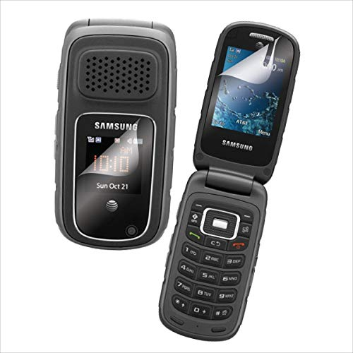Samsung Rugby 3 A997 GSM Unlocked Rugged Flip Phone - Gray/Black (International Version) (Renewed)