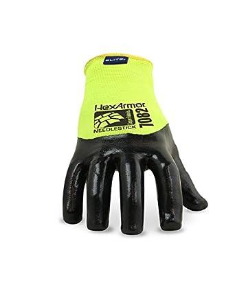HexArmor 7082 SharpsMaster HV Needle Resistant Safety Work Gloves 8 Medium