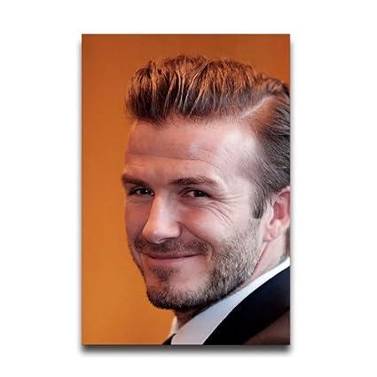 David Beckham Hairstyles Customized Posters Amazon Home Kitchen