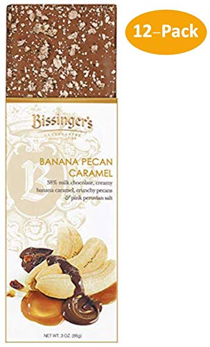 Amazon.com : Bissingers Milk Chocolate Gift Set (3-Pack) - Dulce De Leche, Coconut Caramel & Banana Pecan Caramel | The Ultimate Milk Chocolate Lovers ...