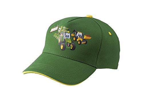 Gorra John Deere para niño verde  Amazon.es  Ropa y accesorios 15e6f4f2662