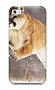 For HTC One M7 Case Cover Hard shell Mountain Lion Protective Case