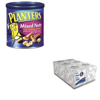 kitkim21271ptn01670-value-kit-planters-mixed-nuts-ptn01670-and-kimberly-clark-kleenex-white-facial-t