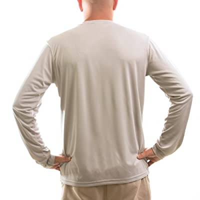 Vapor Apparel Men's Long Sleeve Solar Performance T-Shirt