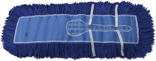 48 Dust Mops | Blue Closed- Loop Industrial Style - 6 Pack