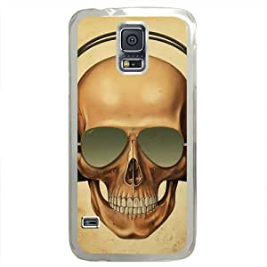 iCustomonline Case for Samsung galaxy S5 PC, Skull Stylish Durable Case for Samsung galaxy S5 PC hjbrhga1544