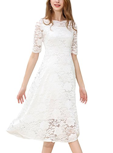 long lace dresses with sleeves1