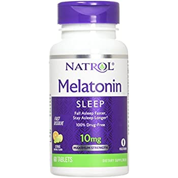 Natrol Melatonin CTRS Pnch 10mg